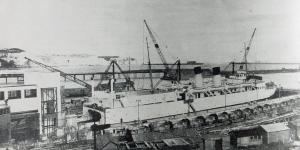 Train Ferry Dock c 1934