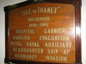 Isle of Thanet World War II Service at York Railway Museum