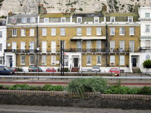 18 East Cliff, where Patrick Saul was born on 15 October 1913