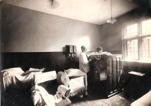 Turkish Baths, Biggin Hall. Source Dover Library