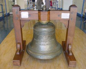 Harbour Bell, De Braderlei Wharf, made by Carrs of Smethwick restored by Richard Mahony