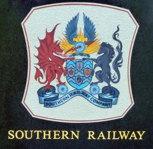 Southern Railway Coat of Arms 1923-1948
