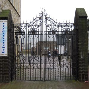 Isolation Hospital Gates