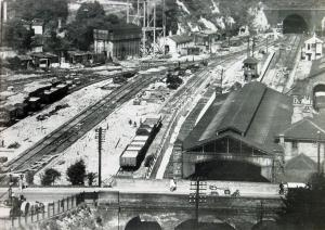 Priory Station prior to alterations in the 1930s