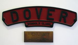 School Class locomotive named after Dover College. Source: Dover College