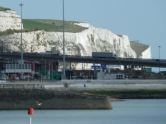 Eastern Docks and the Famous White Cliffs