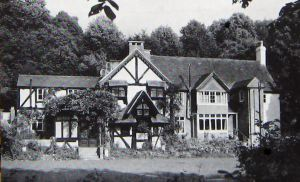 Kearsney Manor c1970s , Churchward's home in Dover during the last years of his life.