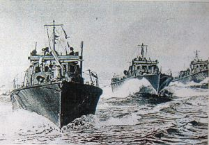 Minelaying Fleet - British & Norwegian - Thanks to David Ryland