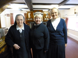 Sisters of the Christian Retreat, Srs Melanie, Anne and Colomba. LS 2016