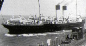 Maid of Orleans - leaving Folkestone January 1940