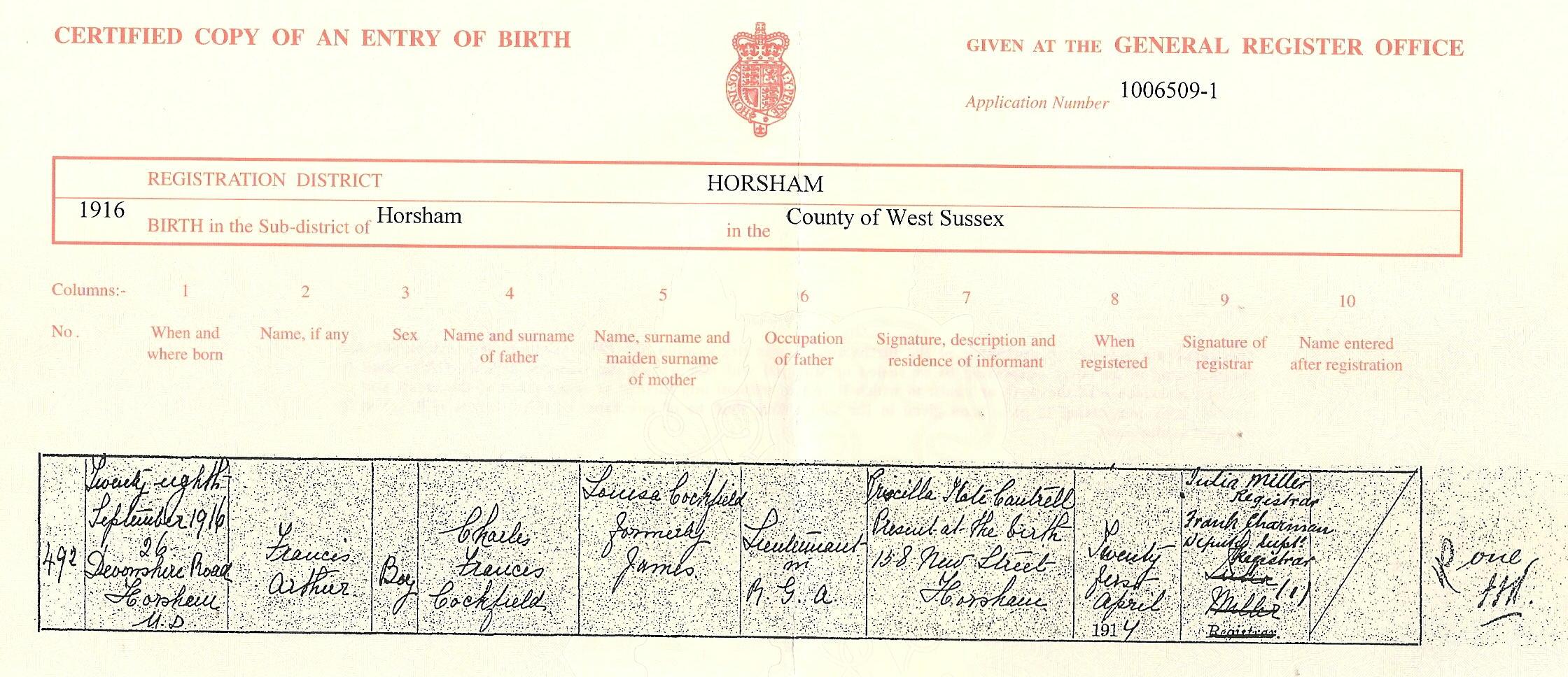 birth certificate creator