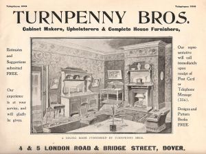 Turnpenny's Catalogue front cover. John Turnpenny Collection