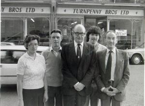 Turnpenny's - 1984 when the decision was made to close the shop. John Turnpenny Collection