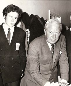 Ted Heath, January 1970 with Alan, the author's husband.
