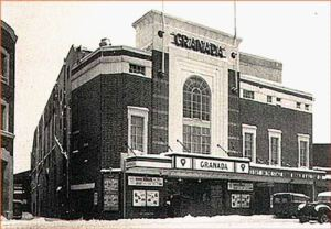The former Granada Cinema, Castle Street opened in 1930 demolished in 2014. Adeline Reilly