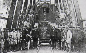Snowdown Colliery First Hoppit of Coal raised 19 November 1912