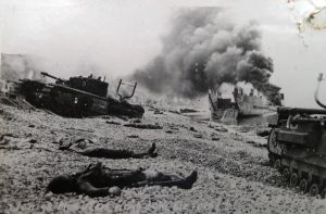 Dieppe Raid 19.08.1942. Courtesy of Ron Akines