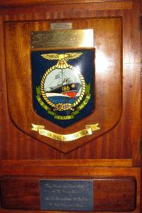 Dieppe Raid  Air Sea Rescue - presented to MV Robrina. St Mary's Church
