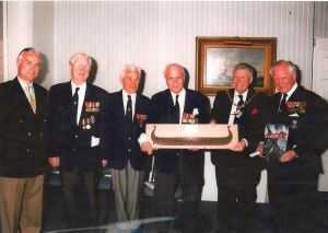 Norwegian Plaque presentation 23 May 1998