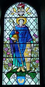 St Martin's Window, Dover College Chapel. Thanks to Stephen Jones, former Headmaster