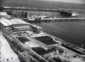Terminal & Customs Sheds 28.05.1953.DHB - Lambert Weston