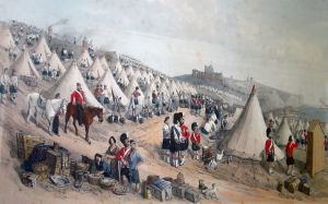 William Burgess - Militia on Western Heights. Dover Harbour Board