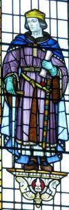 Hubert de Burgh, Mary's Church Lady Chapel Window. LS