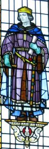 Hubert de Burgh, Mary's Church Lady Chapel Window. LS