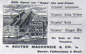 Souter & Mackenzie Mineral Waters - c 1900