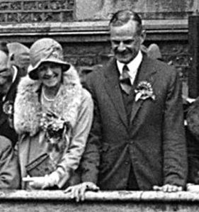 Major John Astor MP and Lady Astor 1929. Dover Museum