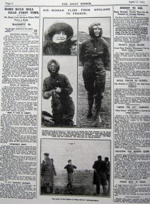 Page 8 of the Daily Mirror 17 April 1912. Giacinta Koontz