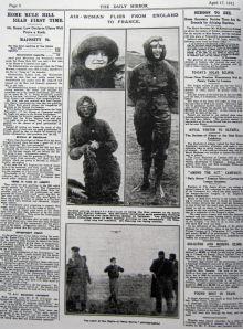 Page 8 of the Daily Mirror 17 April 1912. Giacinta Koontz
