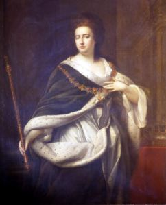 Queen Anne - Godfrey Kneller(1646-1723) oil on canvas. Dover Museum