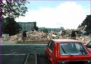 Brook House - Following demolition - Internet