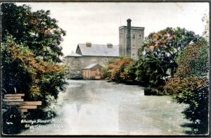 Charlton Green - Chitty's Flour Mill c 1920 - Hollingsbee collection Dover Museum