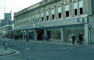 Co-operative Supermarket - Biggin Street 1981. Dover Museum