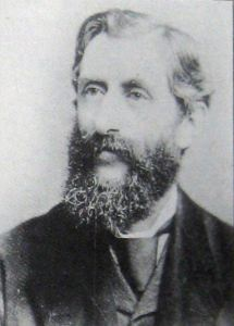 Radford Evans (1836-1912) of River Paper Mill and a founder of the River Co-operative Society. Joe Harman