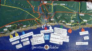 Dieppe Raid locations - National Memorial Arboretum Staffordshire