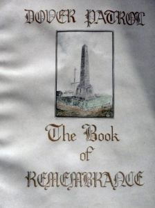 Dover Patrol Book of Remembrance Title Page - St Margaret of Antioch Church, St Margaret's
