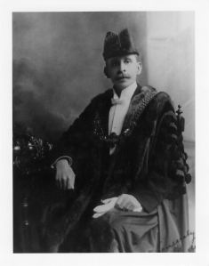 Edwin Fairley - Mayor 1913-1918. Courtesy of Clare Farley