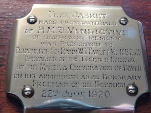 Vindictive Casket inscription - Farley Family