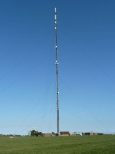 Hougham mast came into service 1960. Alan Sencicle 2012