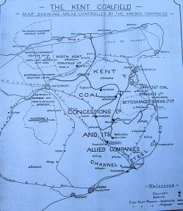 Kent Coalfield - Owners c 1924