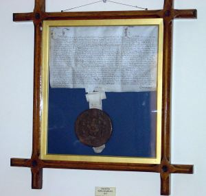 Charles I Charter of 1627