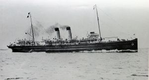 Queen - cross Channel turbine steamer torpedoed 26 October 1916