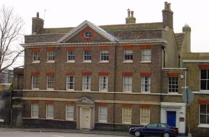 Castle Hill House where the Mayor George Stringer held a grandball to celebrate the Peace Treaty of Amiens of 27 March 1802. Alan Sencicle