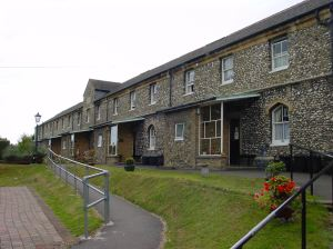 Gorley Almshouses, Cowgate Hill.