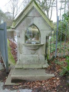 Edward Ferrand Astley water fountain, Connaught Park, erected 1883.