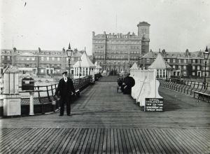 Burlington Hotel from Promenade Pier. Dover Library