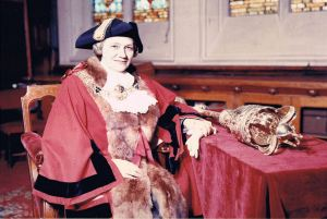 Dorothy Bushell - Dover's first lady Mayor 1960-61 - Courtesy of Fr. Peter Sherred